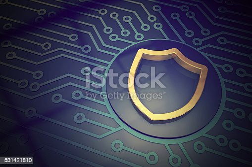 istock Cyber security concept shield 531421810