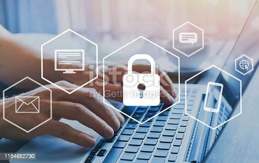 istock cyber security online, cybersecurity concept 1154652730