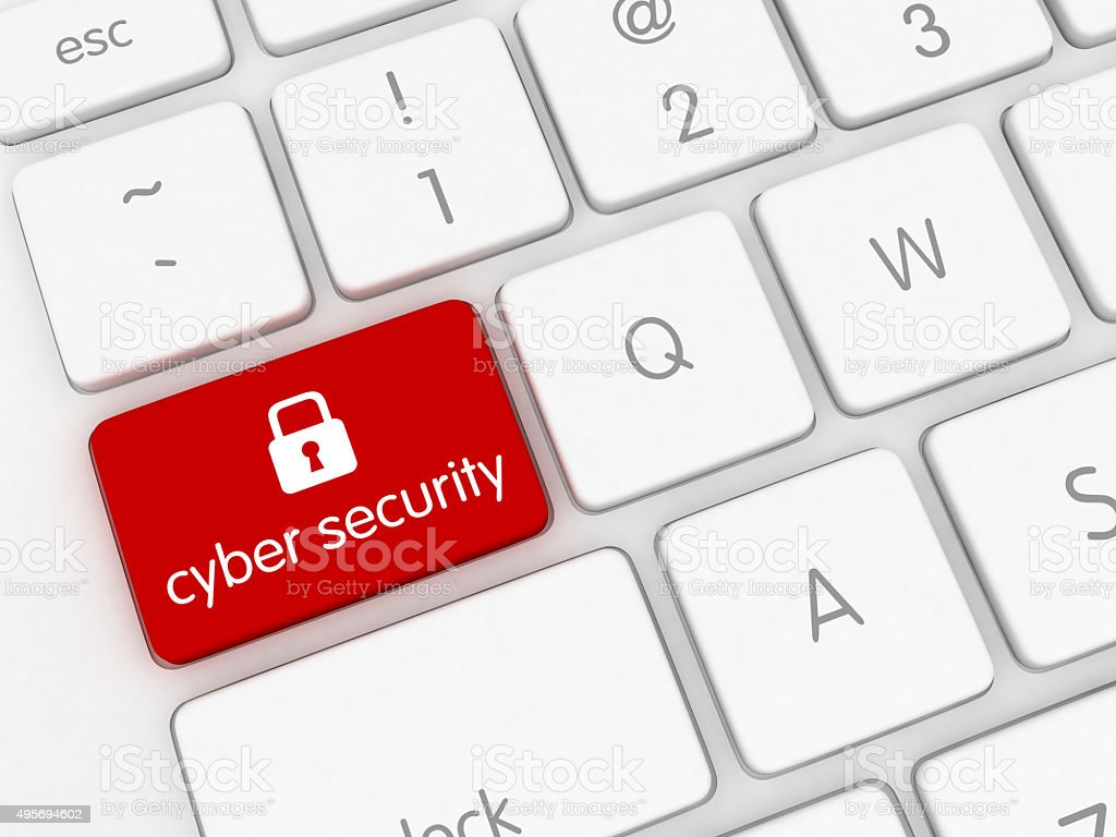 Cyber de seguridad - foto de stock