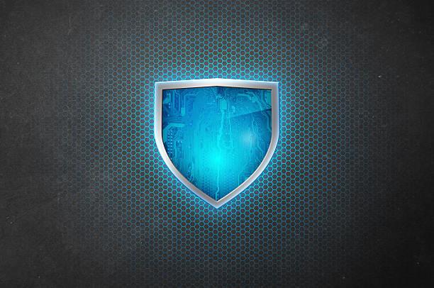 Cyber système de sécurité-Shield-Hexagonal---Monture système - Photo