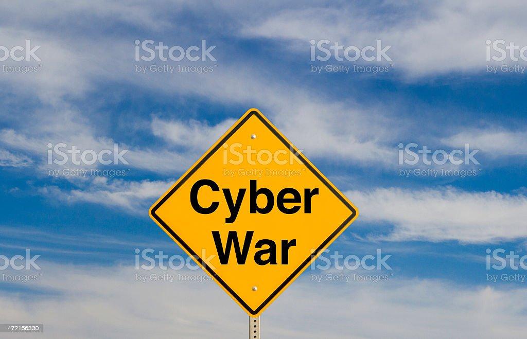 Cyber War stock photo