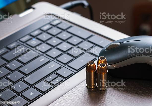 Cyber Warfare Stock Photo - Download Image Now