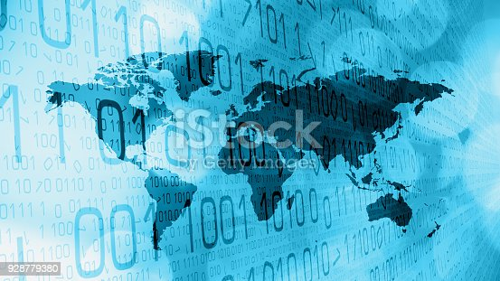 istock Cybercrime in cyber space, hackers attack 928779380