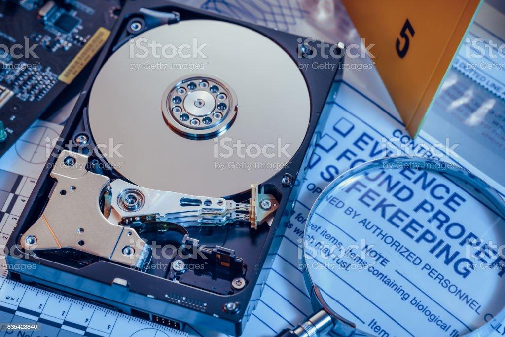 Cybercrime stock photo