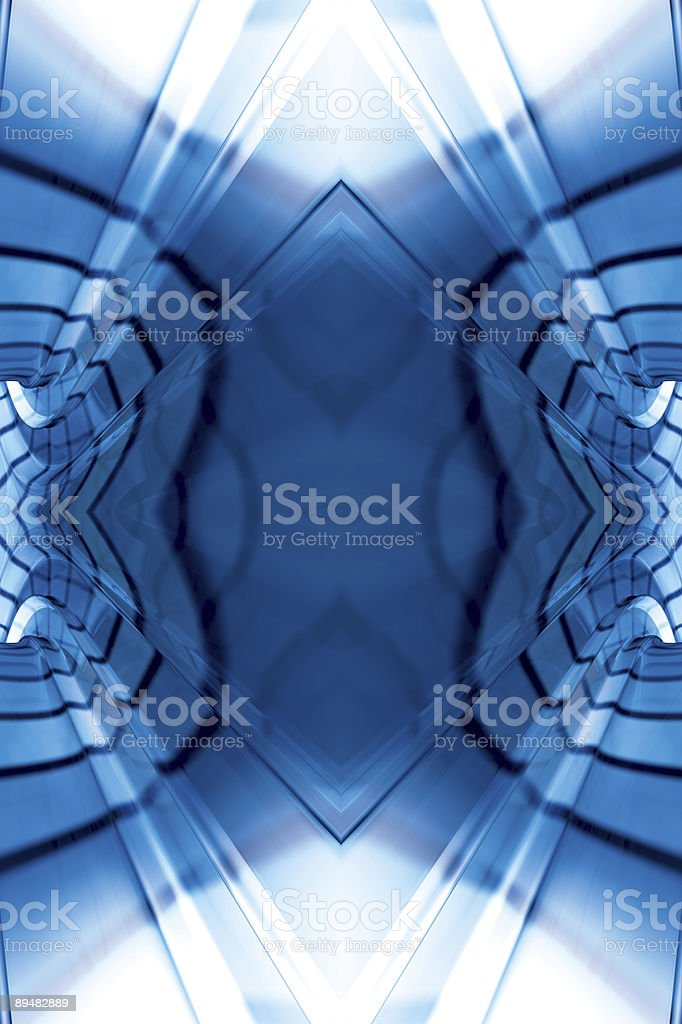 CyberFractalThree royalty-free stock photo