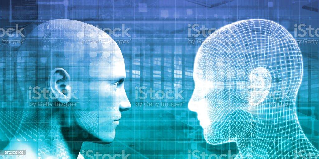 Cybernetics - Lizenzfrei Berufliche Beschäftigung Stock-Foto