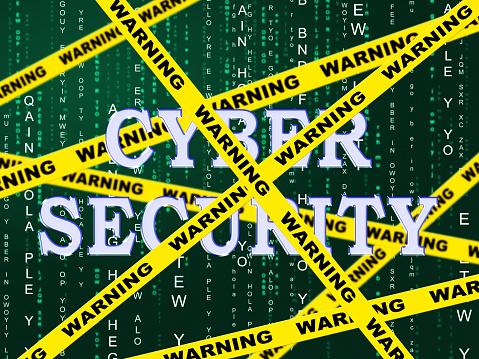 istock Cybersecurity Concept Digital Cyber Security 2d Illustration 1043122836