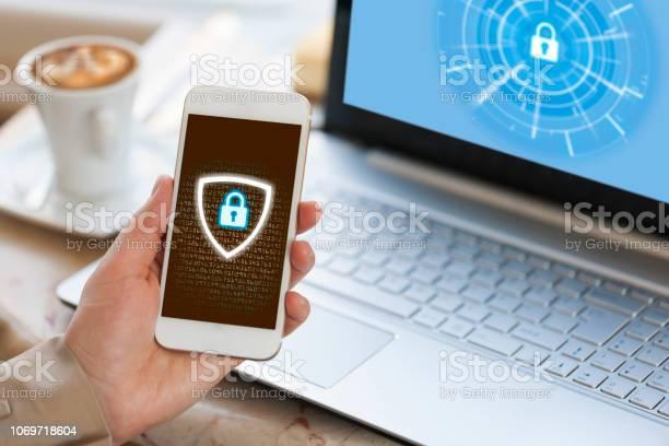 Concetto Di Sicurezza Informatica - Fotografie stock e altre immagini di Misure di sicurezza