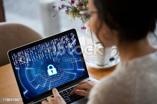 istock Cybersecurity concept 1195413927