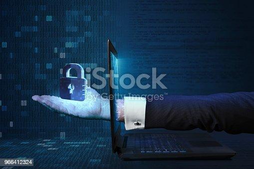 957759714 istock photo Cybersecurity Concept 966412324