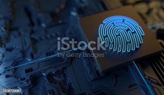 Digital Finger Print Security