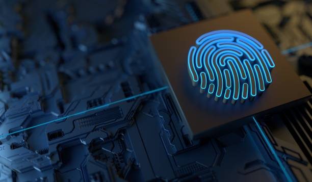 Cybersecurity Digital Security Technology stock photo