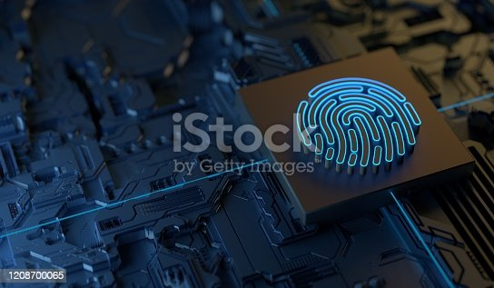 Digital Finger Print Security