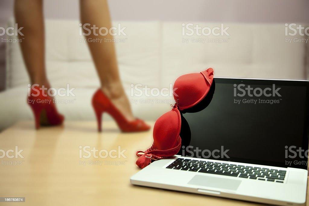 Cybersex royalty-free stock photo