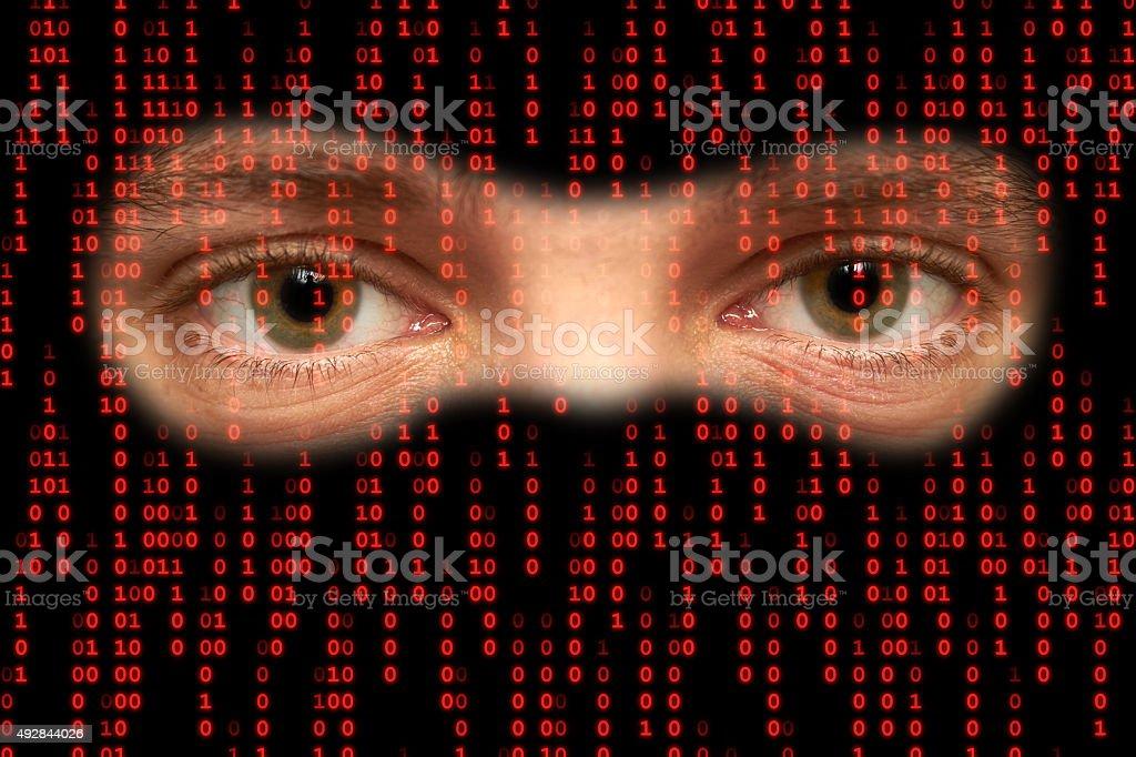 Cyberspace stock photo