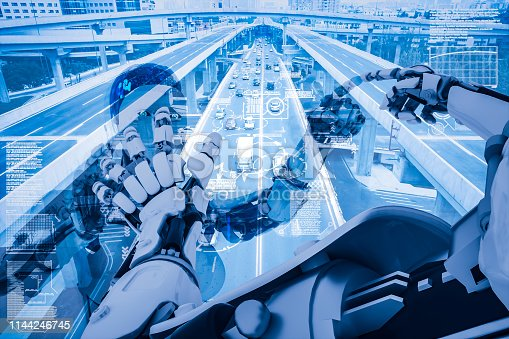 istock AI cyborg command traffic system 1144246745