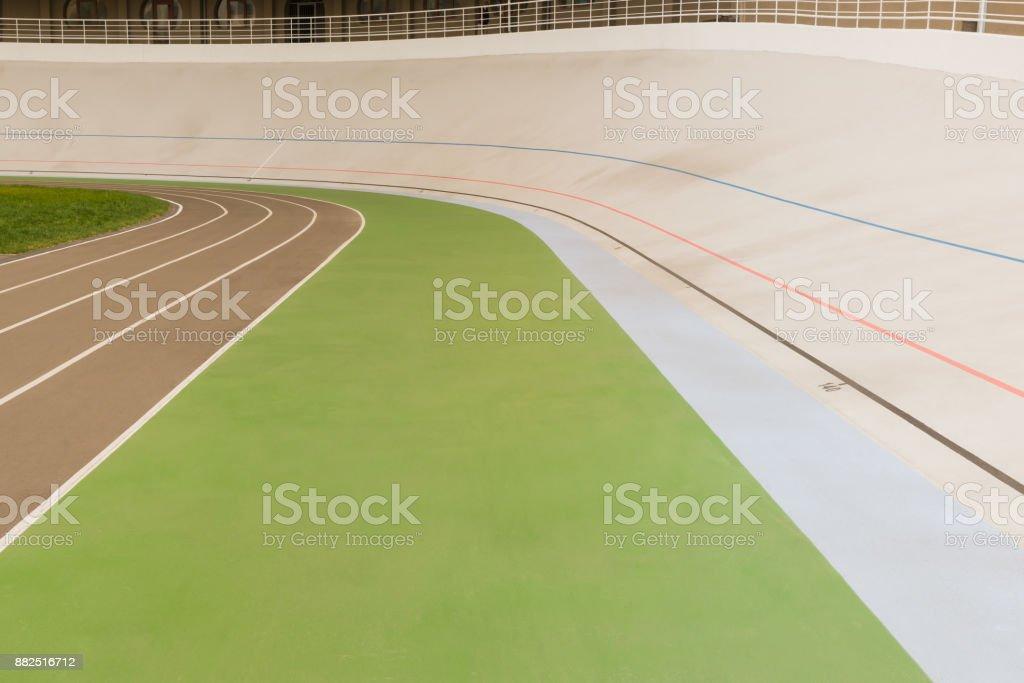 pista de corrida de ciclo - foto de acervo