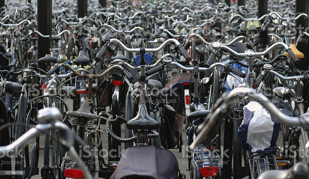 Cycle Rack, Rotterdam #1 royalty-free stock photo