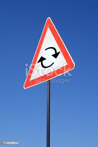 istock Cycle sign 174658644