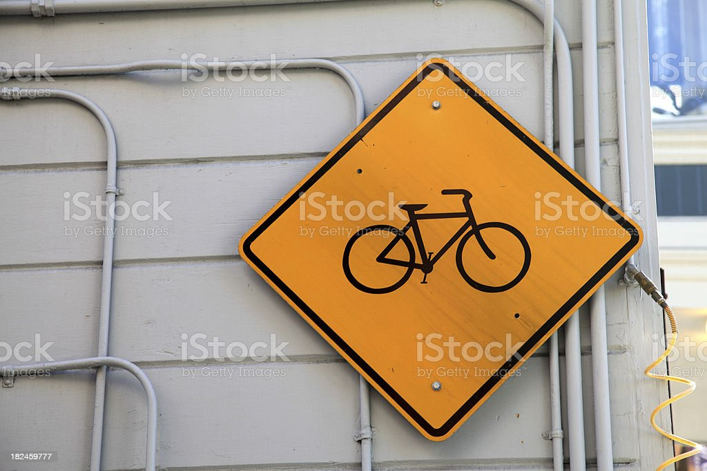 Cycle Sign royalty-free stock photo
