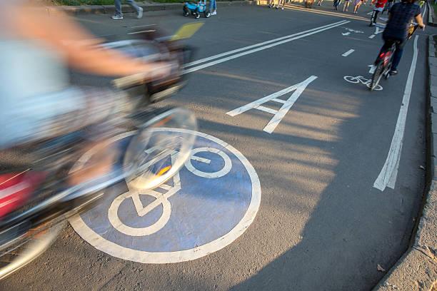 cycle Weg im park – Foto
