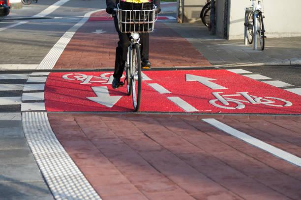 cycle_path - radwege deutschland stock-fotos und bilder
