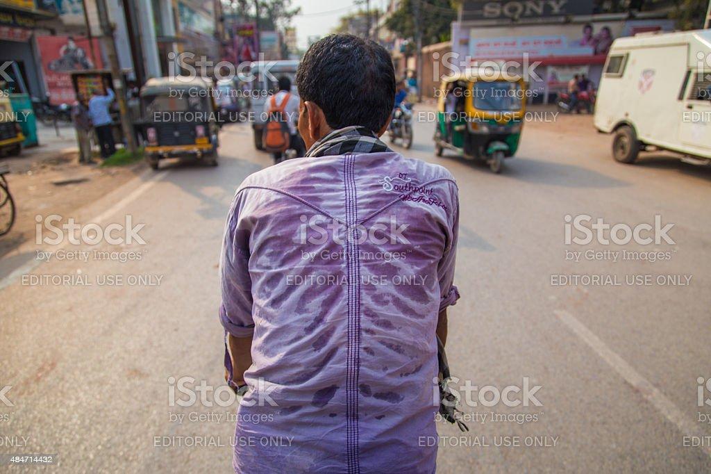 Cycle-rickshaw stock photo