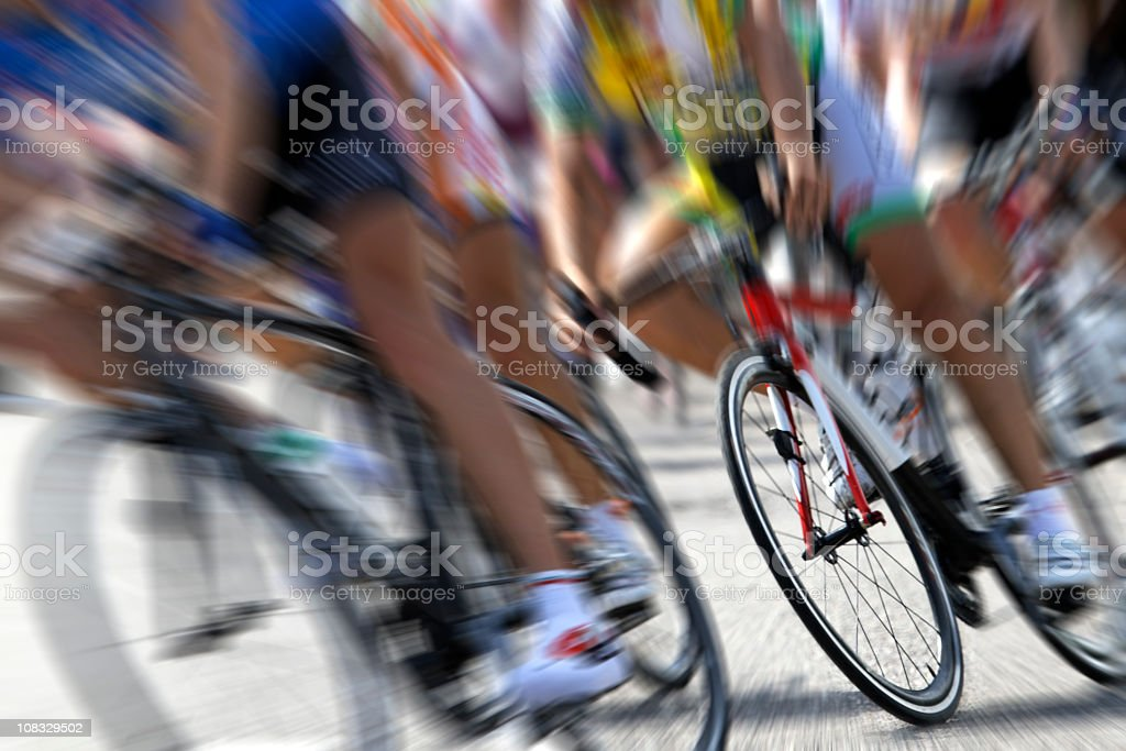 Cycling Competition. Color Image royalty-free stock photo