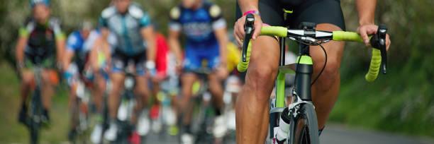 competizione ciclistica - ciclismo foto e immagini stock