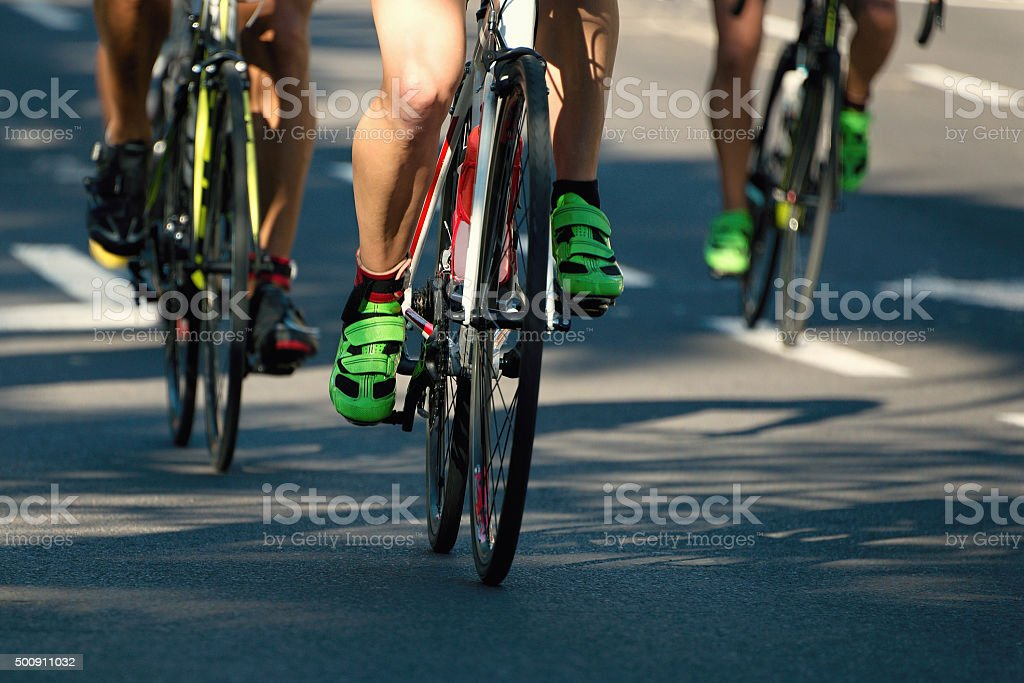 cycling competition stock photo