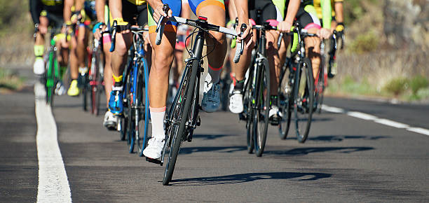 cycling competition race - cycling stock pictures, royalty-free photos & images