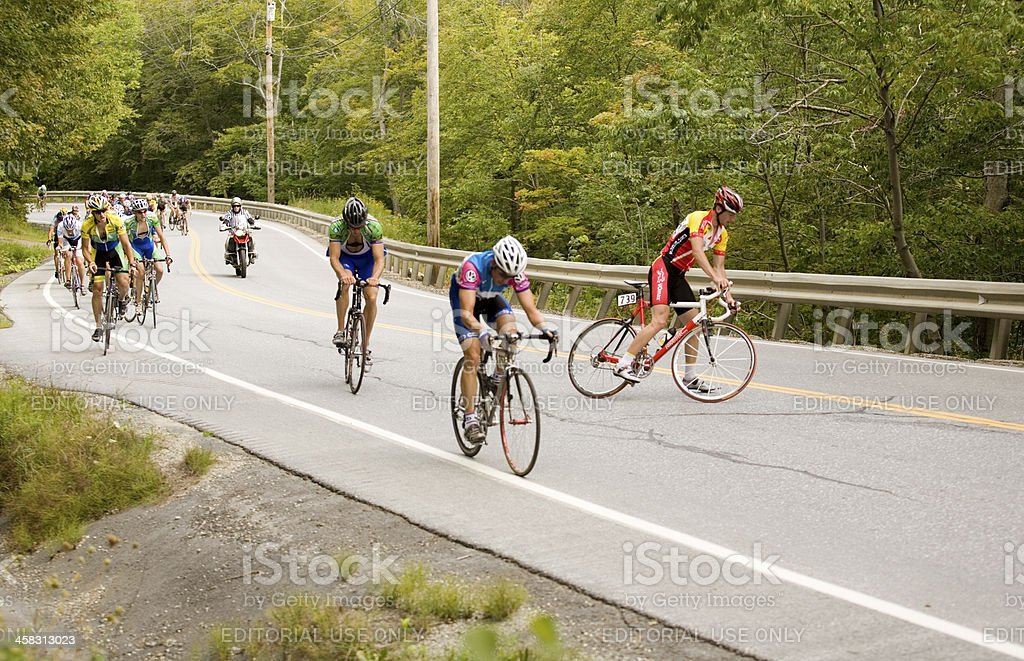 Cycling Competitors stock photo