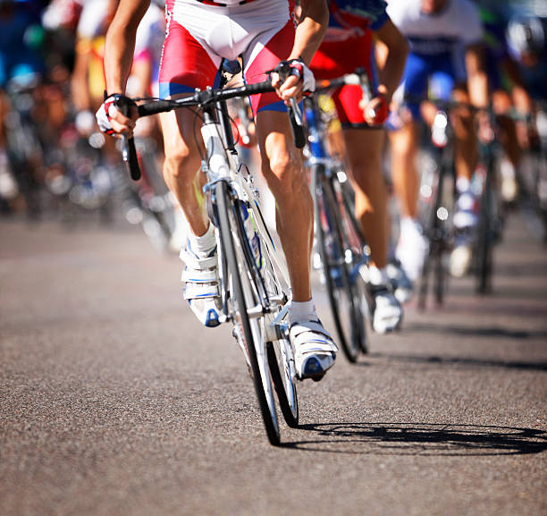 Cycling Event stock photo