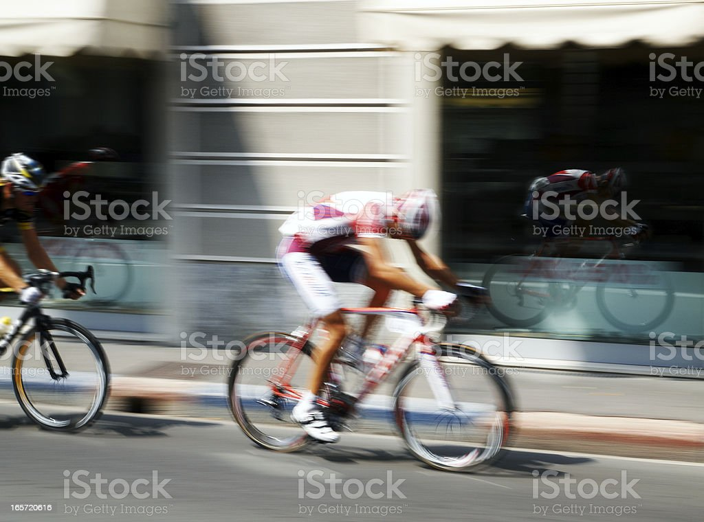 cycling Event royalty-free stock photo