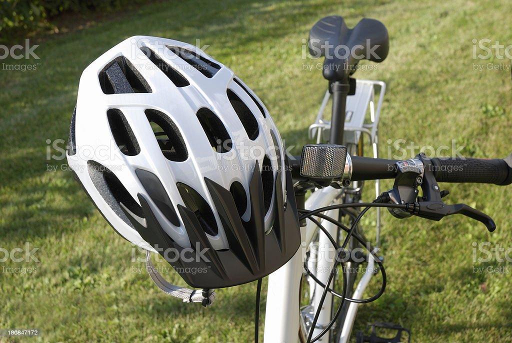 Casco de ciclista. - Foto de stock de Accesorio de cabeza libre de derechos