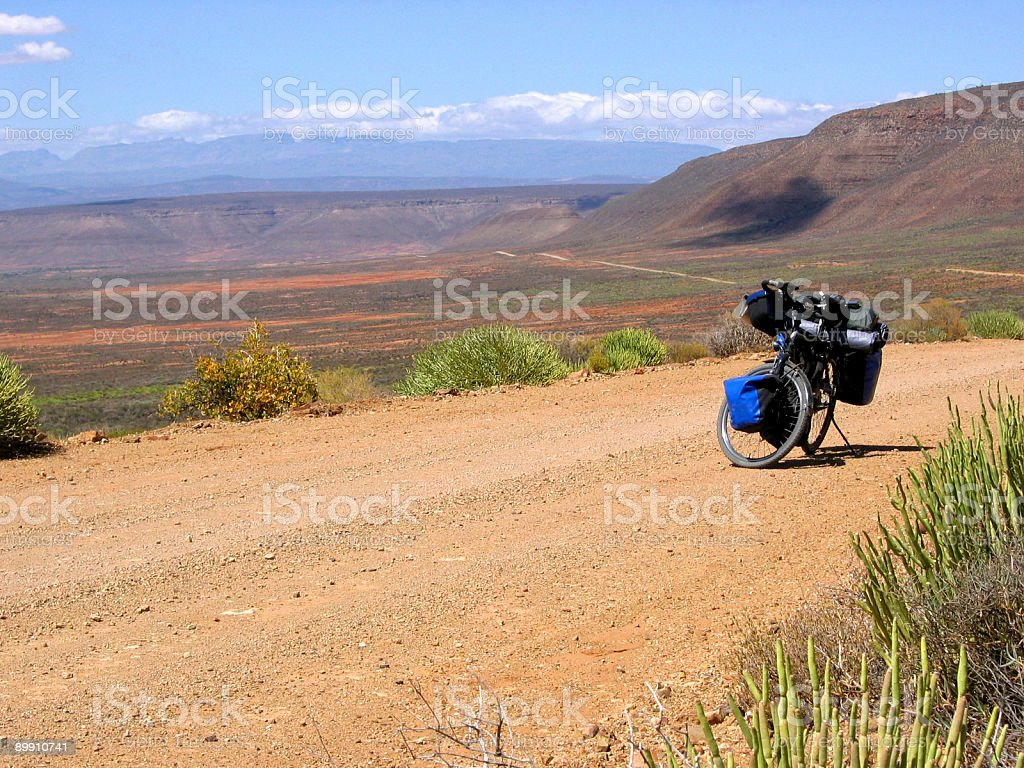 cycling in south africa royalty-free stock photo