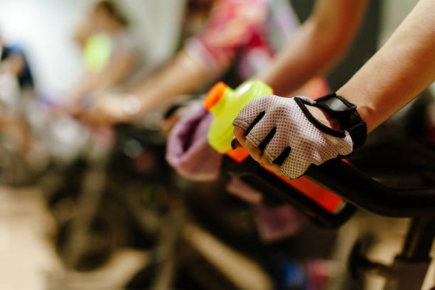 Radfahren im Innenbereich Training – Foto