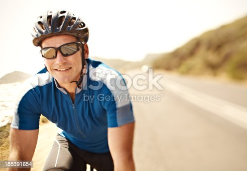 istock Cycling is my favourite sport 155391654