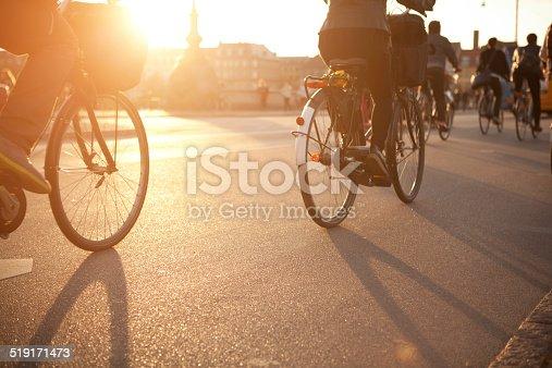 863454090istockphoto Cycling on city street. 519171473