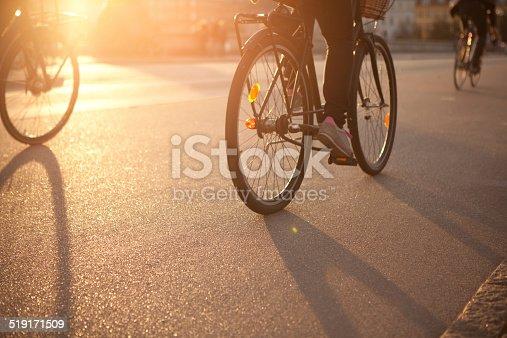 863454090istockphoto Cycling on city street. 519171509