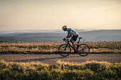 istock Cycling outdoors. 1186803500