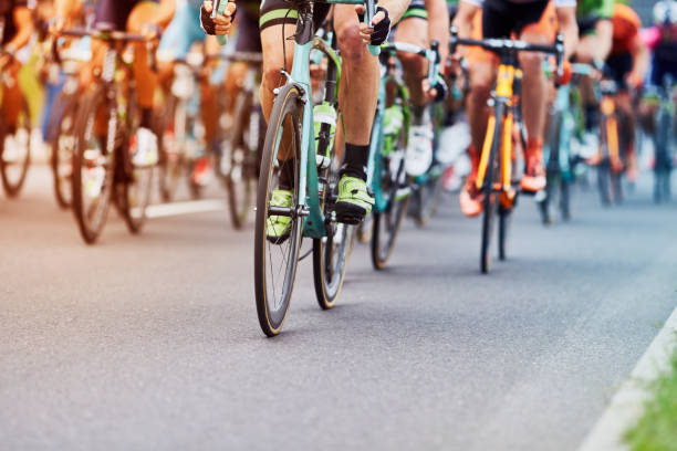 cycling race - cycling stock photos and pictures