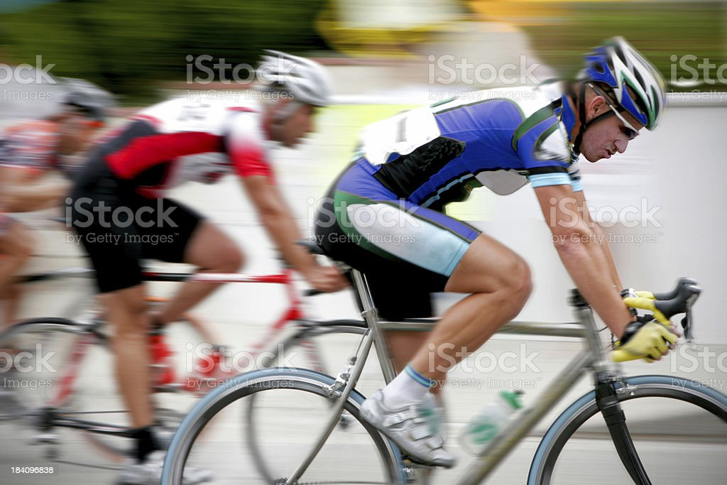 Cycling Racer stock photo