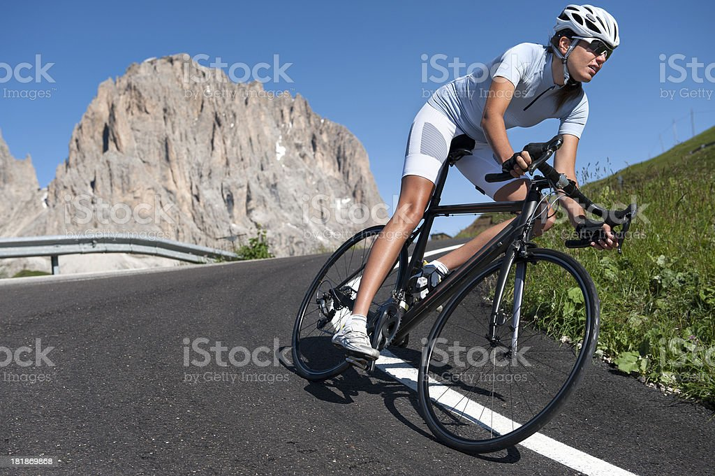 Fahrrad Rennen harten Training – Foto