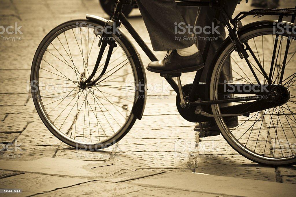 Fahrrad retro-Stil Lizenzfreies stock-foto