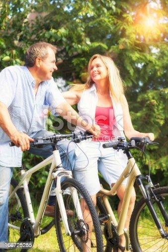 istock Cycling seniors 166725285