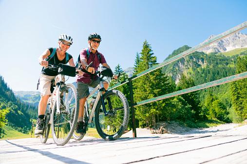 cycling seniors