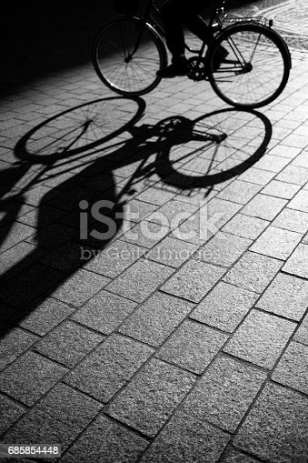 812812808 istock photo cycling through the city 685854448
