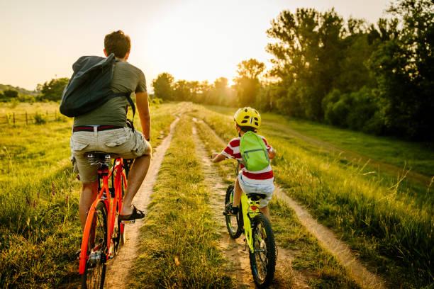 Radfahren mit meinem Vater – Foto