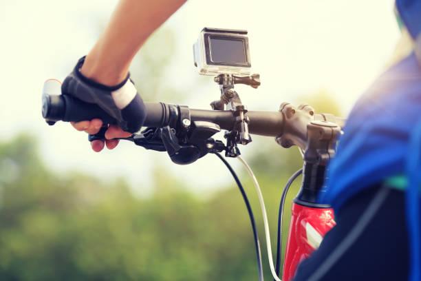 Radfahrer Radsport Mountainbike unterwegs – Foto